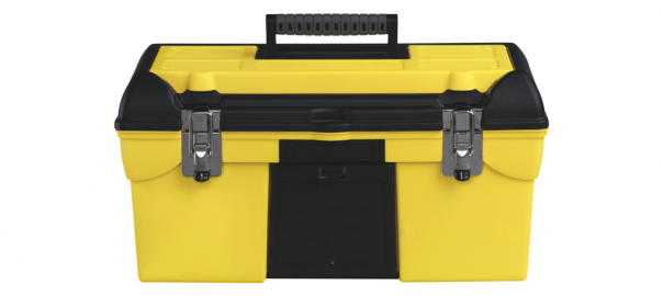 yellow toolbox - Blast Cabinet Maintenance