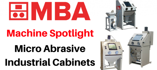micro abrasive industrial cabinets