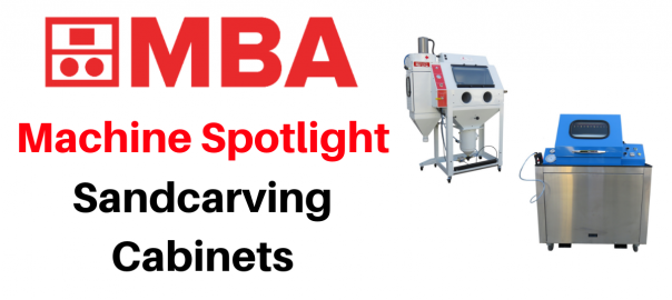 machine spotlight - sandcarving cabinets